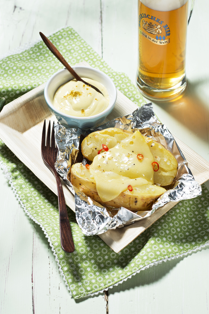 Grillkartoffel