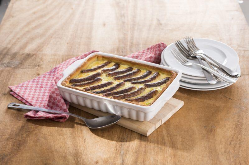 Bratwurst-Lauch-Kuchen
