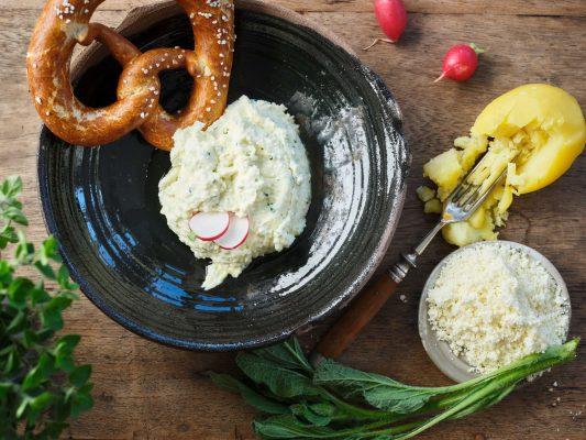 ALLGÄUER WEIßLACKER G.U. Kartoffelaufstrich mit Allgäuer Weißlacker